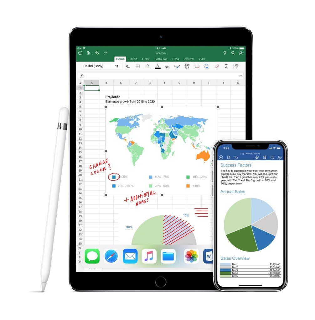 Apple Pencil iPadPro iPhoneX