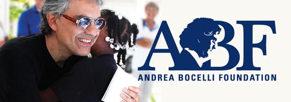 Andrea Bocelli Foundation graphic