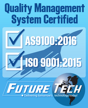 Future Tech AS 9100:2016 ISO 9001:2015